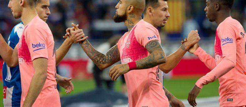 """Ernesto Valverde, DT del Barcelona: """"Estamos encantados con lo que Arturo Vidal no está dando"""""""