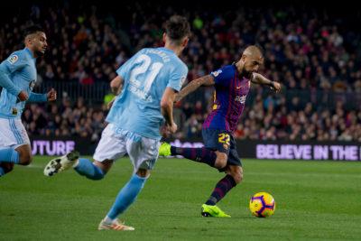 Prensa española destaca las estadísticas de Arturo Vidal como titular en el Barcelona
