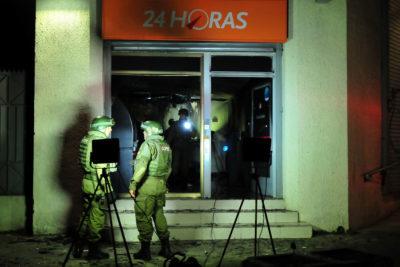 Nuevo intento de robo de cajero automático con saturación por gas en Las Condes