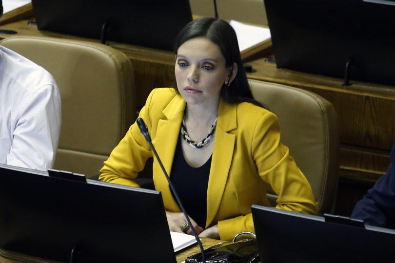 """Virulento mensaje de la diputada Camila Flores a los comunistas por tildar de """"desastroso"""" el gobierno de Piñera"""