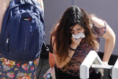 """""""Excesivo y desproporcionado"""": INDH busca prohibir uso de lacrimógenas en colegios y vía pública"""