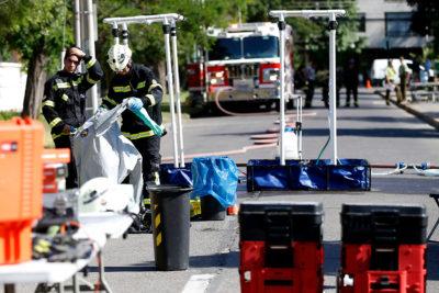 Bomberos evacuó sector de Vitacura tras muerte de hombre por cianuro