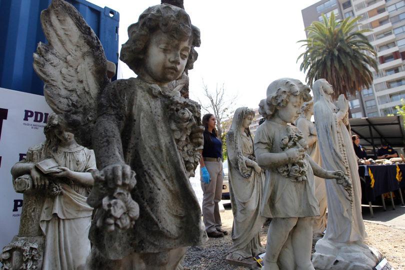Robo de esculturas patrimoniales: ¿Quién tiene la culpa?