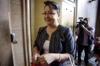 """Dorothy Pérez retomó sus funciones en Contraloría: """"Estoy bien, vengo a trabajar"""""""
