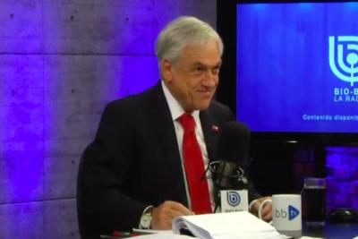 VIDEO | La pregunta de Mosciatti a Piñera tras decir que no tomó desayuno porque Cecilia Morel no estaba en la casa