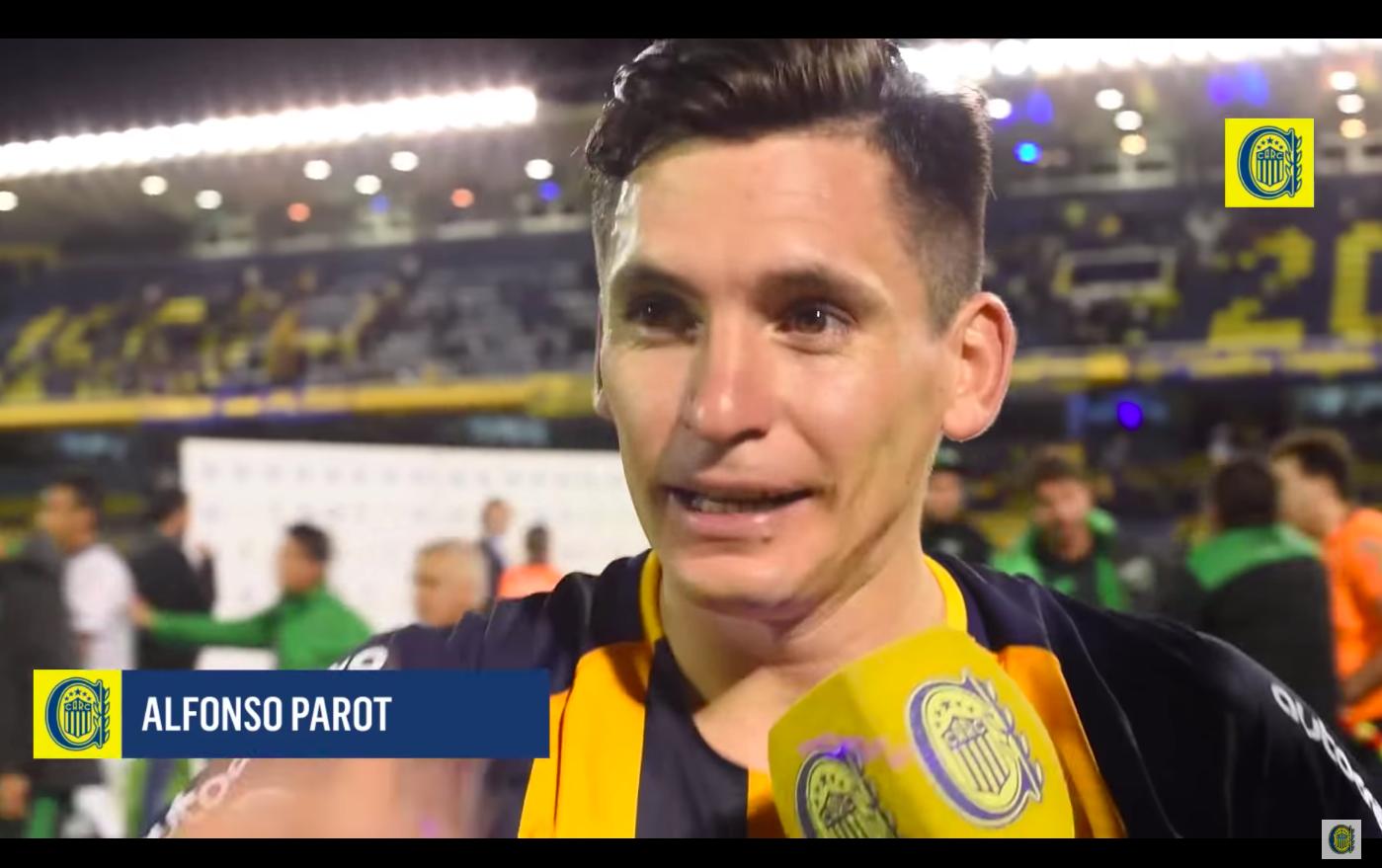 """""""Alfonso Parot se llena de aplausos tras ganar Copa Argentina:"""