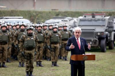 """Gobierno planea retirar Gope y """"Comando Jungla"""" de La Araucanía"""