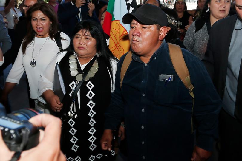 """Padre de Camilo Catrillanca: """"No están dadas las condiciones para conversar con el Gobierno"""""""