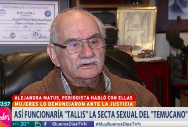 Tito Fernández presta declaración ante acusaciones de abuso sexual
