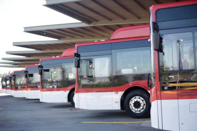 Esta Navidad se suman 17 nuevos buses eléctricos al Transantiago