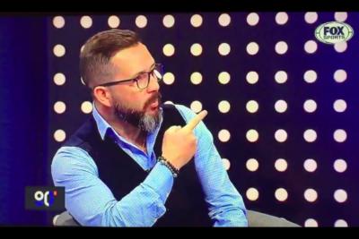 """VIDEO  """"Es un imbécil…"""" fue lo más suave que Rodrigo Goldberg le dijo a Iván Moreira en pleno programa de TV"""