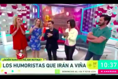 VIDEO | Fail evidente del matinal de Chilevisión deja al descubierto que el programa navideño era grabado y no en vivo