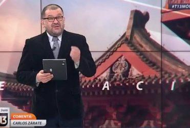 """""""Racista e ignorante"""" fue lo más suave que rostro de prensa de Canal 13 le dijo al diputado Urrutia por burlas a Nuyado"""