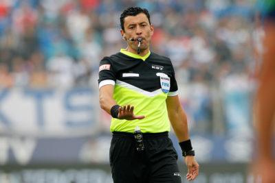 Tobar fue designado para arbitrar revancha de la final de la Copa Sudamericana