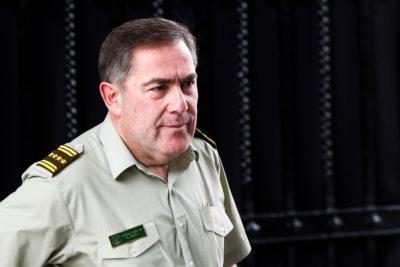"""Hermes Soto le habla a sus filas: """"A los oficiales, les exijo ponerse a la altura"""""""