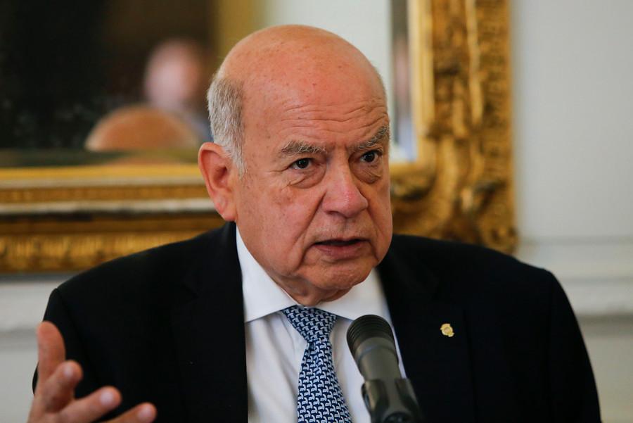 """José Miguel Insulza: """"Como oposición confundimos protesta con violencia"""""""