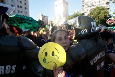 Nueva manifestación de funcionarias de Integra: este lunes cumplen 6 días de paro