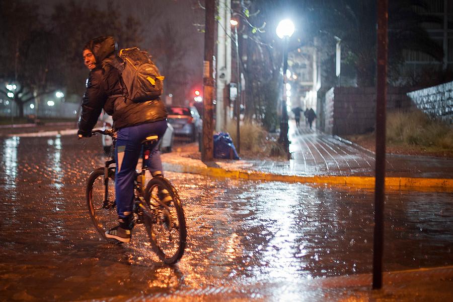 """""""Alerta temprana preventina en la Región Metropolitana por lluvia en precordillera"""""""