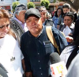 Ministro Moreno se reunió con padre de Camilo Catrillanca