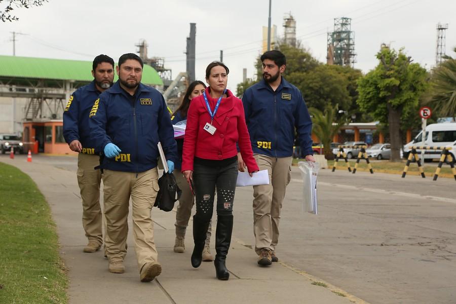 """""""ENAP confirma que PDI allanó oficinas en medio de investigación por intoxicaciones en Quintero y Puchuncaví"""""""