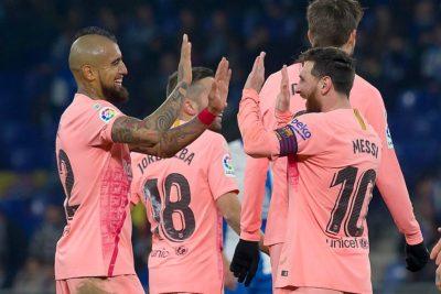 Las gestiones de Lio Messi para que Barcelona fichara a Arturo Vidal