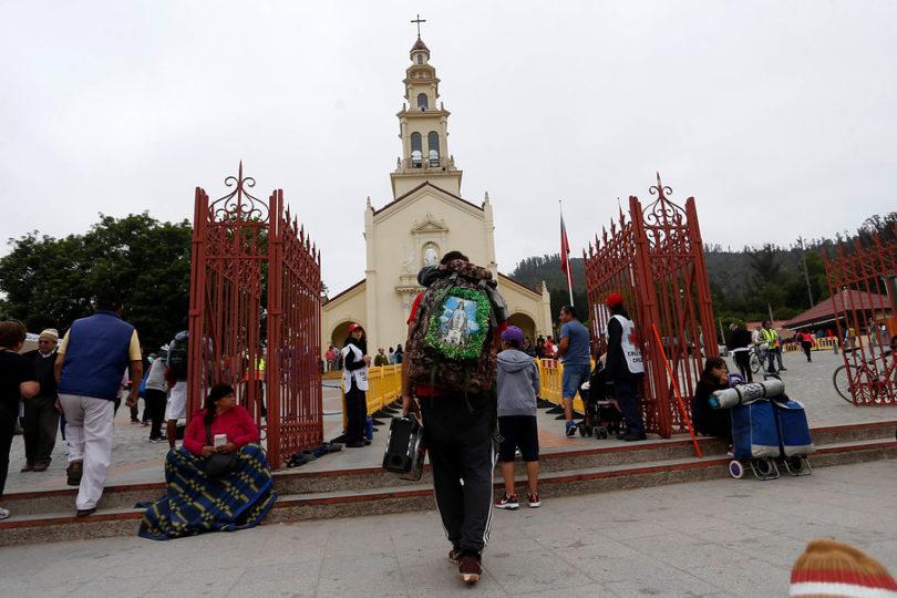 Anuncian medidas de contingencia por peregrinación a Lo Vásquez