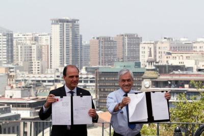 """Piñera lanza nuevo Ministerio de Ciudad y Vivienda: """"Nos permitirá devolverle a las ciudades su sentido original"""""""