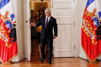 """Piñera por pacto: """"He cumplido con mi deber de proteger intereses de chilenos"""""""