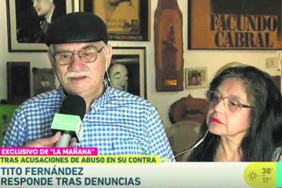 VIDEO | Tito Fernández aseguró molesto en cámara que no pertenecía a ninguna secta… pero el final le salió pésimo