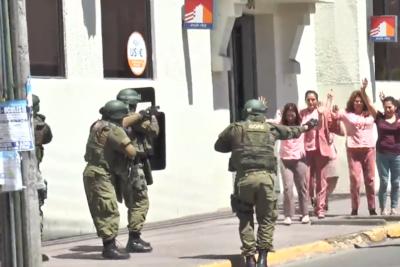 Onemi no estaba en conocimiento del controvertido simulacro de asalto en banco de Linares
