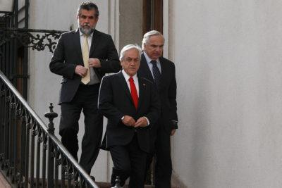 """Piñera: """"El ministro del Interior cuenta con toda mi confianza"""""""