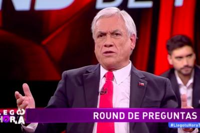 """Denuncian a Piñera en Contraloría por asegurar que """"en La Araucanía queman mujeres y niños dentro de iglesias"""""""