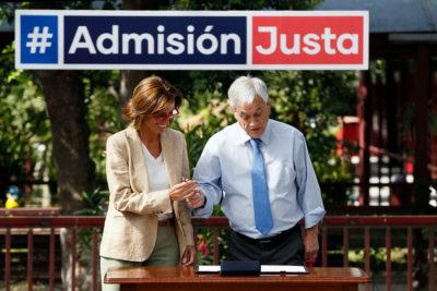 Gobierno decide dividir proyecto de Admisión Justa en dos
