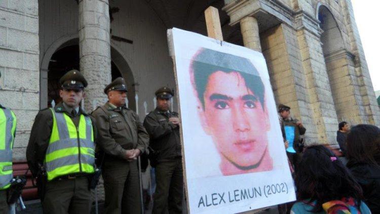 """""""Justicia mantiene prisión preventiva para ex carabinero imputado por homicidio de Alex Lemún"""""""