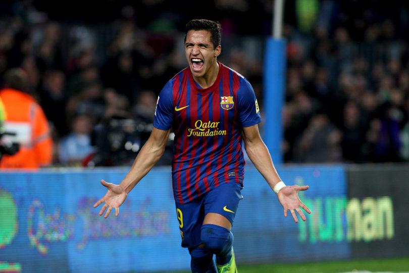 Golazo de Alexis Sánchez postula al mejor de la historia del Barcelona