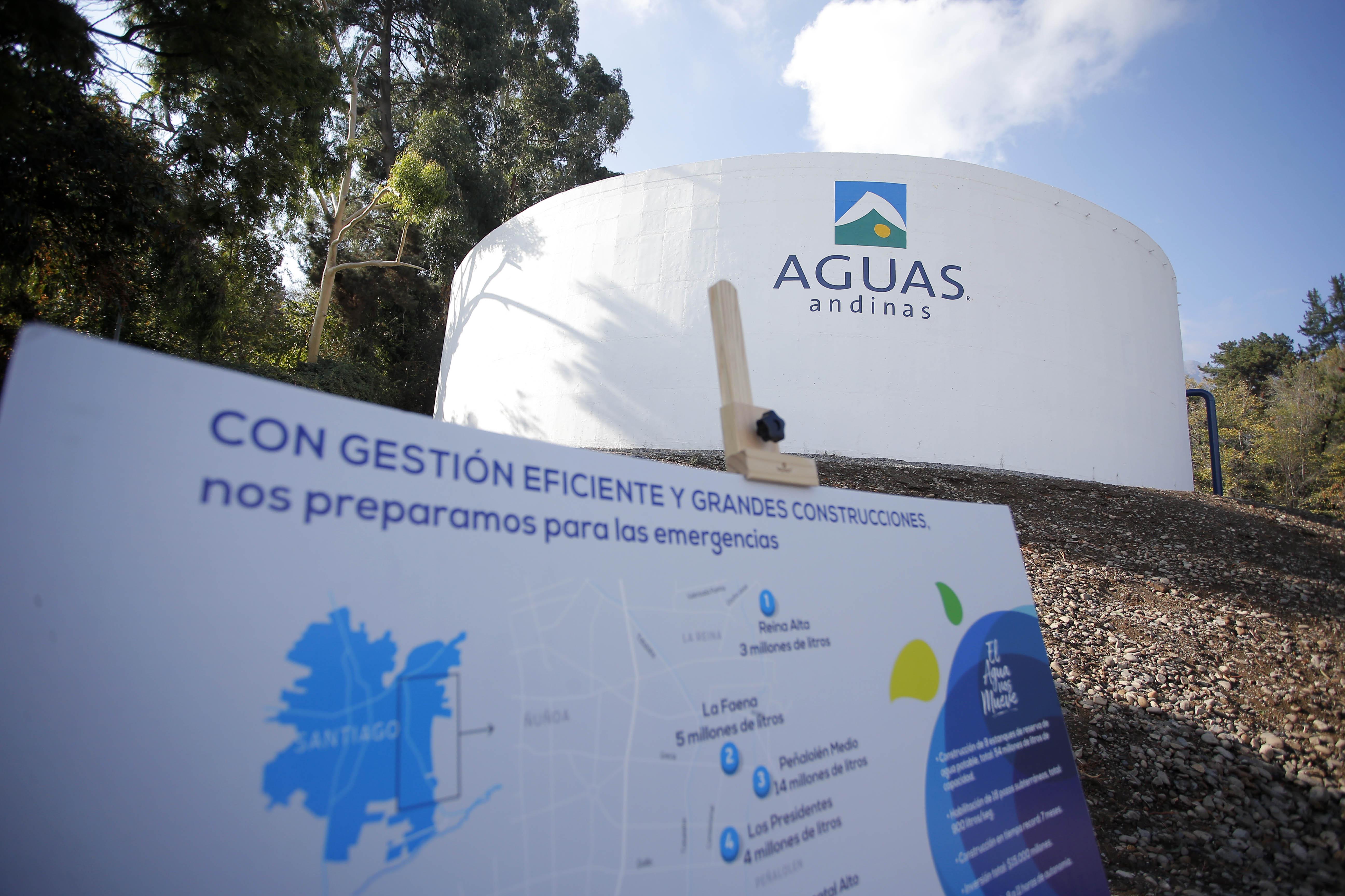 """""""Aguas Cordillera repondrá servicio en horas de la tarde: aún se ignora contaminante"""""""