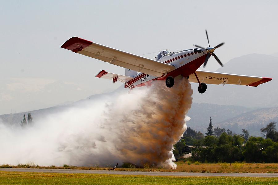 Base Aérea El Bosque será centro logístico para combatir incendios forestales