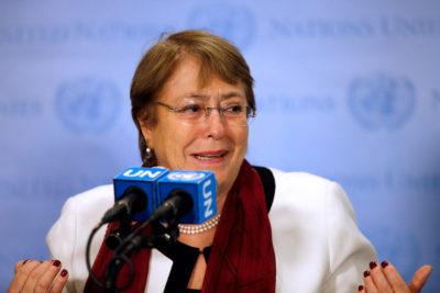 La fallida campaña de Trump para evitar que Michelle Bachelet fuera Alta Comisionada de DD.HH. de la ONU