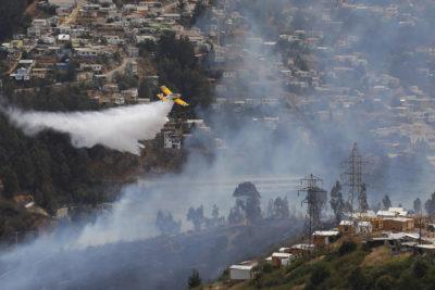 Notoria baja de incendios forestales: solo dos se mantienen activos