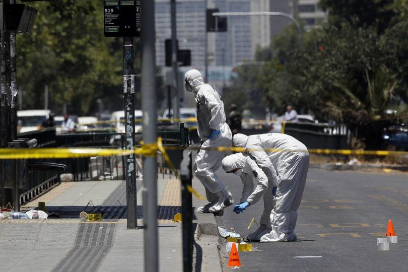 Fiscal asegura que explosión fue producto de un artefacto artesanal