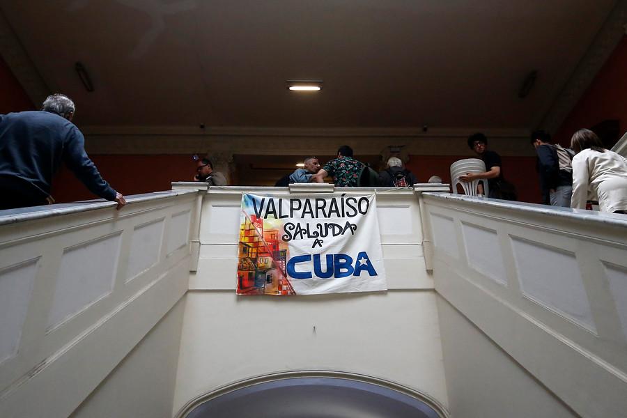 Aviso de bomba suspendió homenaje a la Revolución Cubana en Valparaíso