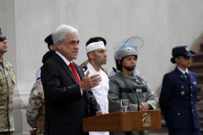 """Piñera defiende """"Admisión justa"""": """"Mérito y esfuerzo reemplazan al azar"""""""