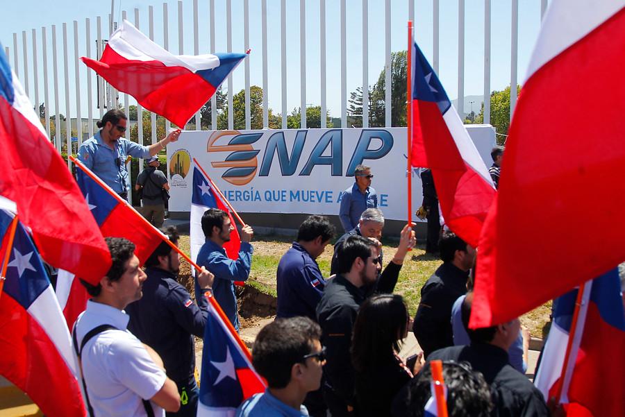 ENAP inició despido de más de 300 trabajadores en todo el país