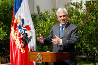 """Piñera reconoce a Juan Guaidó como """"Presidente encargado"""" de Venezuela"""