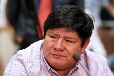 """Marcelo Catrillanca a comisión investigadora: """"A mi hijo lo han querido ensuciar"""""""