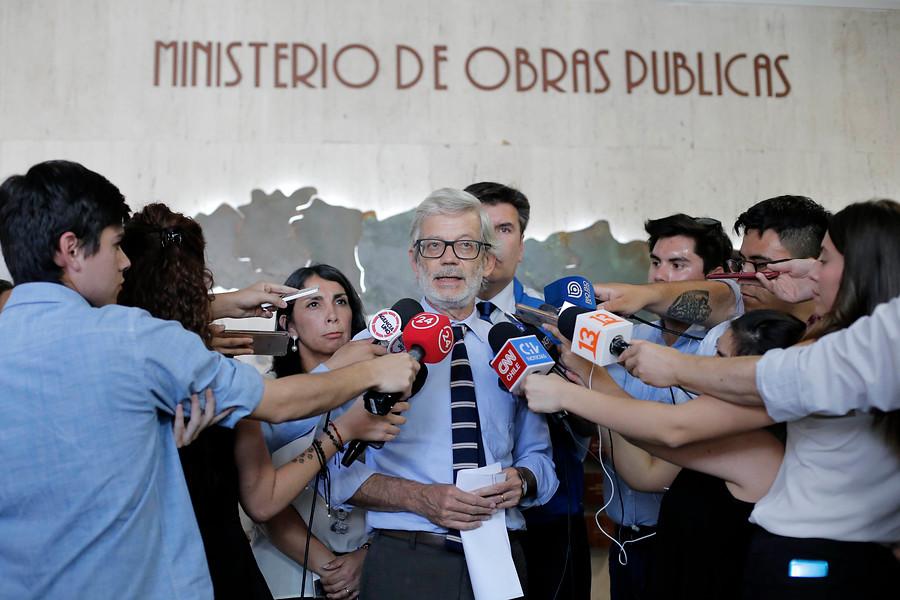 """""""Ministro Fontaine y derechos de agua:"""