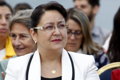 Dorothy Pérez reaparece en acto con Piñera por subvenciones del Sename