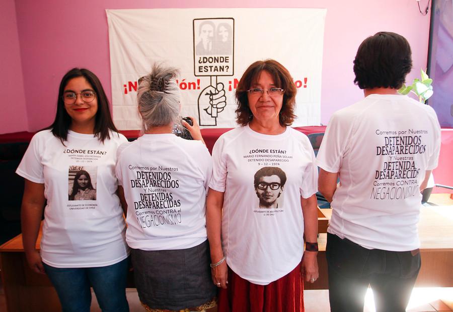 Maratón de Santiago tendrá poleras con rostros de detenidos desaparecidos