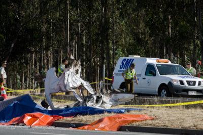 Camión aplastó minibús de dializados y dejó nueve fallecidos en Máfil