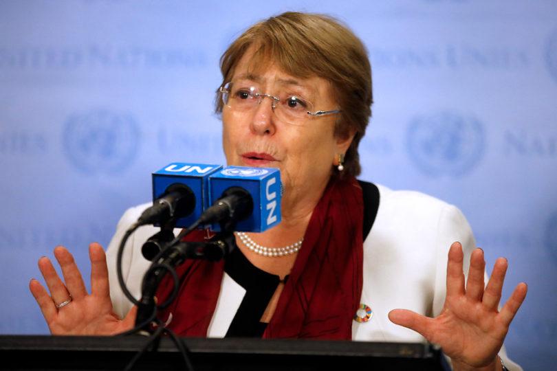 """Bachelet critica  """"criminalización de la disidencia en Nicaragua"""" y pide """"revisión independiente"""" en condenas de opositores"""